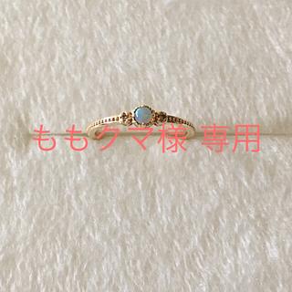 アガット(agete)のノジェス ピンキーリング 5号(リング(指輪))