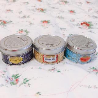 KUSMI TEA  パリ、クスミティーの3缶セット(茶)