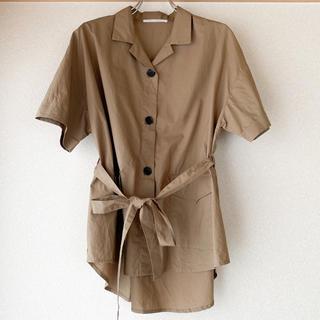 アーバンリサーチ(URBAN RESEARCH)のウエストマークシャツ(シャツ/ブラウス(半袖/袖なし))
