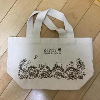 アースミュージックアンドエコロジー(earth music & ecology)のミニトートバック(トートバッグ)