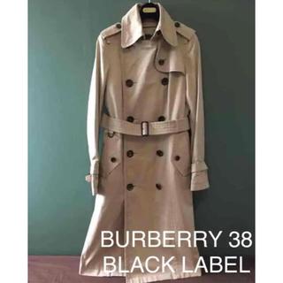 バーバリーブラックレーベル(BURBERRY BLACK LABEL)のBURBERRY BLACK LABEL バーバリー トレンチ ロング(トレンチコート)
