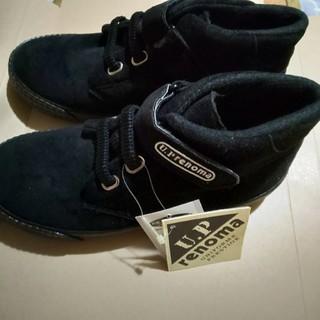 ユーピーレノマ(U.P renoma)の【新品タグ付き】靴 U.P renoma 合革 ベロア スニーカー(ローファー/革靴)