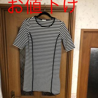 ジーユー(GU)のguレディーストップス(Tシャツ(長袖/七分))