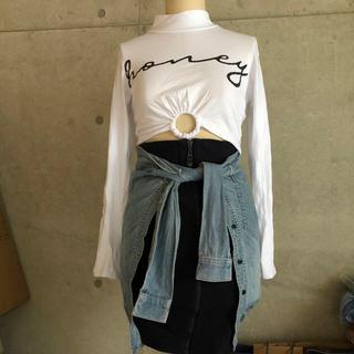オープニングセレモニー(OPENING CEREMONY)のRIHANNA ジップ スウェット スカート(ひざ丈スカート)
