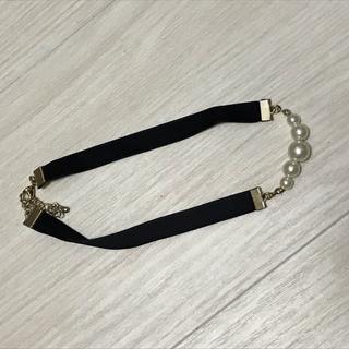 ジーユー(GU)のチョーカー ネックレス パール 真珠 シンプル 上品(ネックレス)