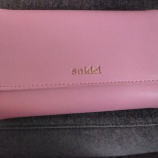スナイデル(snidel)の未使用snaidelの財布(長財布)
