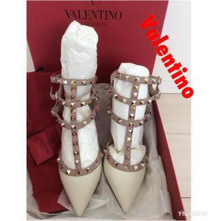 ヴァレンティノガラヴァーニ(valentino garavani)の新品 未使用 ヴァレンティノ ジミーチュウ好きにもおススメ スタッズ (ハイヒール/パンプス)