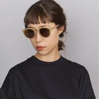 ビューティアンドユースユナイテッドアローズ(BEAUTY&YOUTH UNITED ARROWS)の日曜迄値下げ A.D.S.R ユニセックス サングラス モデル着用色(サングラス/メガネ)