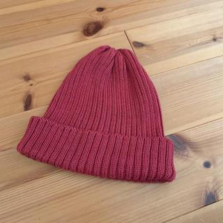 ローズバッド(ROSE BUD)のリブニット帽子(ニット帽/ビーニー)