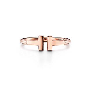 ティファニー(Tiffany & Co.)のティファニー  Tワイヤー リング  ピンクゴールド(リング(指輪))