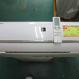 K862 シャープ 中古エアコン 主に14畳用 冷4.0w/暖5.0kw(エアコン)