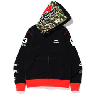 アベイシングエイプ(A BATHING APE)のbape formula 1 shark full zip hoodie 3XL(パーカー)