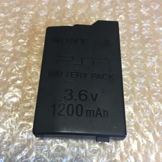 プレイステーションポータブル(PlayStation Portable)のPSP2000 PSP3000用 SONY純正バッテリー(その他)