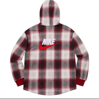 Supreme -  Supreme×NIKE Plaid Hooded Sweatshit