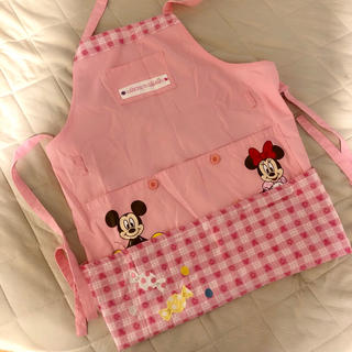 ディズニー(Disney)の美品 ミッキーミニーのエプロン(その他)