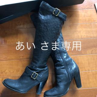 マウジー(moussy)のmoussy   美品 定価¥41790 ヒール付きエンジニアブーツ(ブーツ)