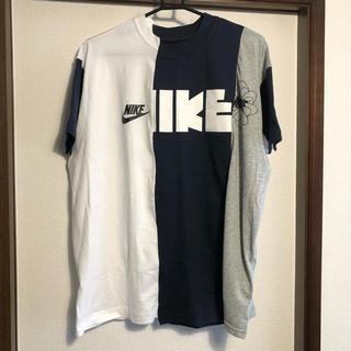 サカイ(sacai)のNIKE sacai マルチカラーTシャツ(Tシャツ(半袖/袖なし))