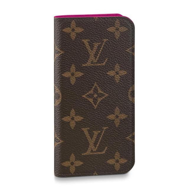 LOUIS VUITTON - ルイヴィトン モノグラム 手帳型iPhone7.8 フェリオケースの通販