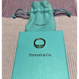 ティファニー(Tiffany & Co.)の18Kローズゴールドのワイヤー リング(リング(指輪))