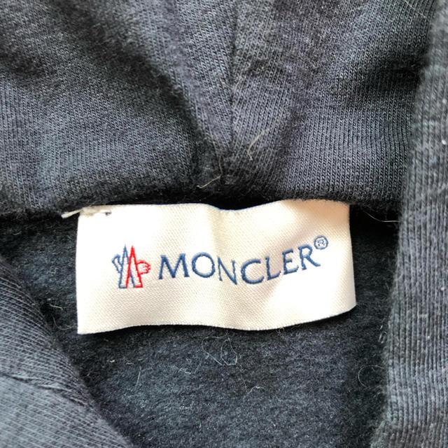 MONCLER(モンクレール)のモンクレール パーカー 130 キッズ/ベビー/マタニティのキッズ服 女の子用(90cm~)(ジャケット/上着)の商品写真