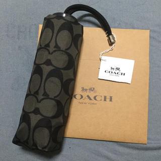コーチ(COACH)のCOACH コーチ 折り畳み傘(傘)