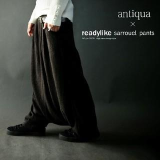 antiqua - 新品 アンティカ 変形 サルエルパンツ