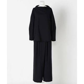 エンフォルド(ENFOLD)のENFOLD ライトウールShirt collar PO (シャツ/ブラウス(長袖/七分))