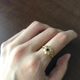【mederu jewelry 】ラピスラズリリング(リング(指輪))