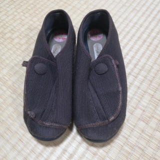 シルバー レディース靴 23.0EEE(スニーカー)