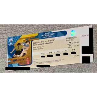 ラグビーワールドカップ ニュージーランド 使用済 チケット②(その他)