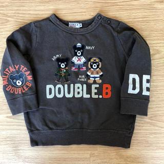 ダブルビー(DOUBLE.B)のダブルビー トレーナー90(その他)