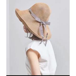 バーニーズニューヨーク(BARNEYS NEW YORK)のアシーナニューヨーク   SHIHO TANBODY シホ 帽子(麦わら帽子/ストローハット)