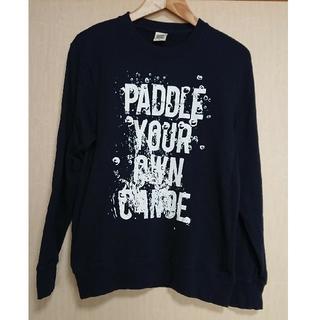 グラニフ(Design Tshirts Store graniph)のメンズトレーナーネイビーMサイズ(スウェット)
