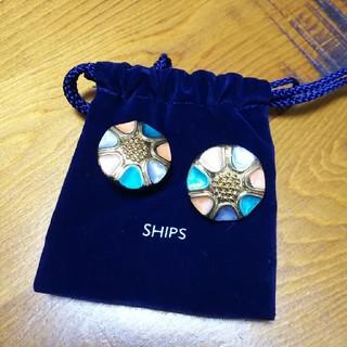 SHIPS - SHIPS イヤリング