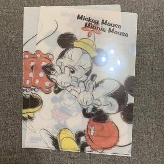 ミッキーマウス(ミッキーマウス)のクリアファイル【ミッキー&ミニー】(クリアファイル)