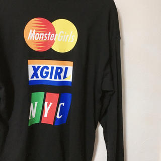 X-girl - xgirl ロンT フリーサイズ