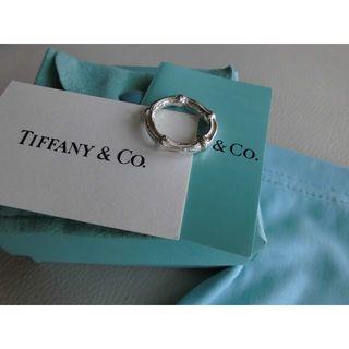 ティファニー(Tiffany & Co.)の【正規品】TIFFANY バンブーリング SILVER925(リング(指輪))