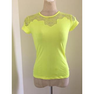 バレンシアガ(Balenciaga)のバレンシアガ レースストレッチTシャツ(Tシャツ(半袖/袖なし))