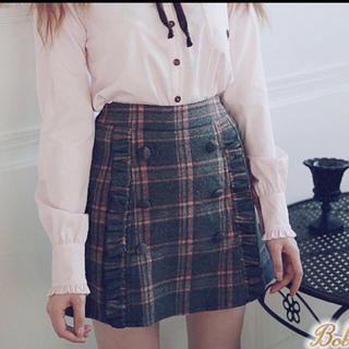 ボボンニジュウイチ(Bobon21)の♡Bobon21 お嬢様タータンチェックスカート(ミニスカート)