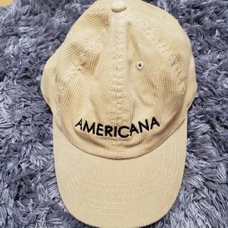 アメリカーナ(AMERICANA)のAmericana JEANSFACTORY(キャップ)