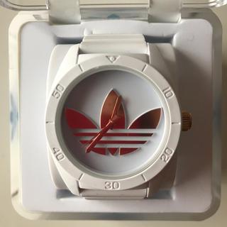 アディダス(adidas)のアディダス adidas 腕時計 文字盤ピンクゴールド(腕時計)