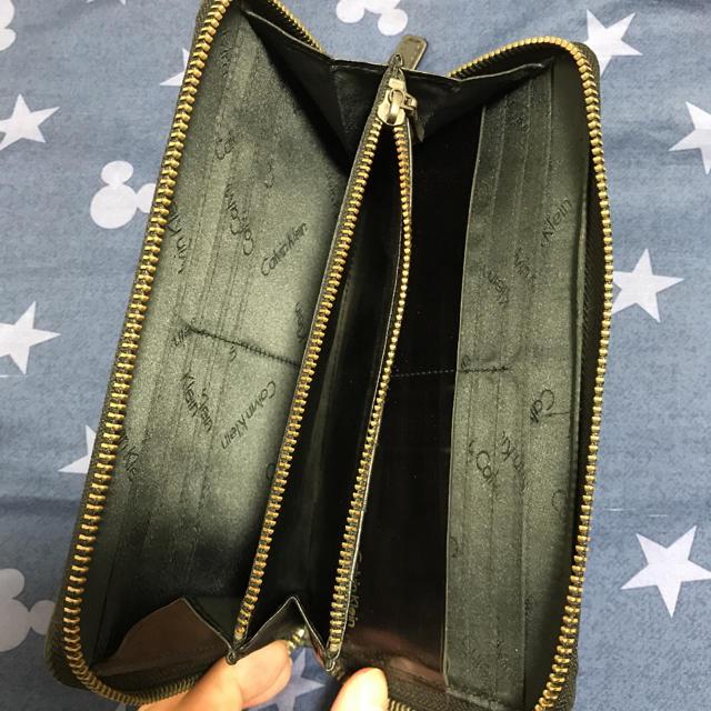 Calvin Klein(カルバンクライン)のCALVIN KLEIN ラウンドファスナー 長財布 メンズのファッション小物(長財布)の商品写真