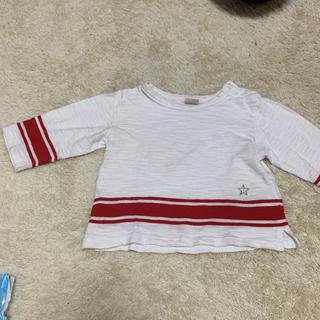 プティマイン(petit main)のプティマイン ロンT トップス 七分袖(Tシャツ/カットソー)