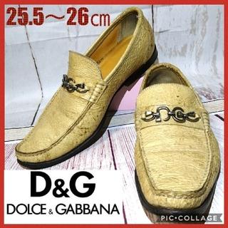ドルチェアンドガッバーナ(DOLCE&GABBANA)のDOLCE&GABBANA 革靴 ビットローファー(ドレス/ビジネス)