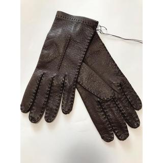 バーニーズニューヨーク(BARNEYS NEW YORK)のmadova ペッカリーグローブ 手袋 イタリア製(手袋)