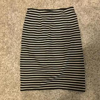 ドゥーズィエムクラス(DEUXIEME CLASSE)のDeuxieme Classe ボーダータイトスカート(ひざ丈スカート)