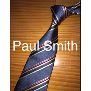 新古品 Paul Smith グレーストライプ