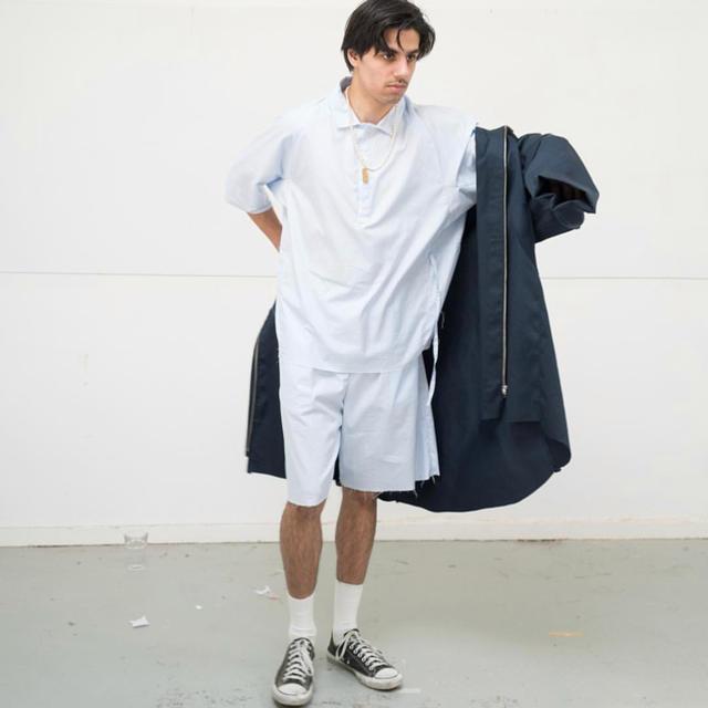 COMOLI(コモリ)の本日限定値下げ ryo着用 ブランド camiel fortgens メンズのジャケット/アウター(ステンカラーコート)の商品写真