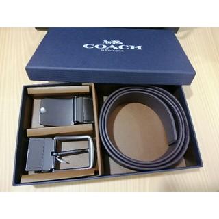 COACH - 19ss美品 COACHコーチ   ベルト  メンズ   セット