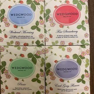WEDGWOOD - ウェッジウッド 紅茶4種